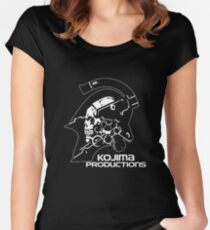 Kojima Productions 2016 New Logo High Reso Print Image Shirt & Pillow Women's Fitted Scoop T-Shirt