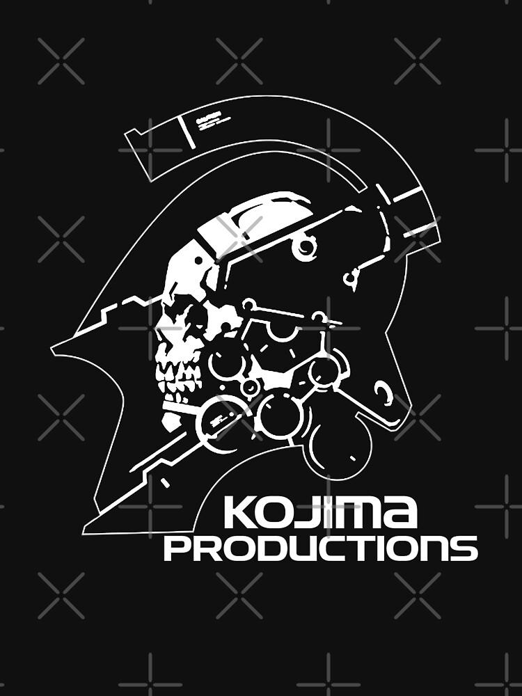 Kojima Productions 2016 New Logo High Reso Print Image Shirt & Pillow by paulfierce