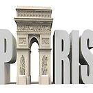 PARIS TRIUMPH 2 Pop Art by Bruce ALMIGHTY Baker