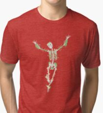 I Don't Care, I'm Dead Tri-blend T-Shirt