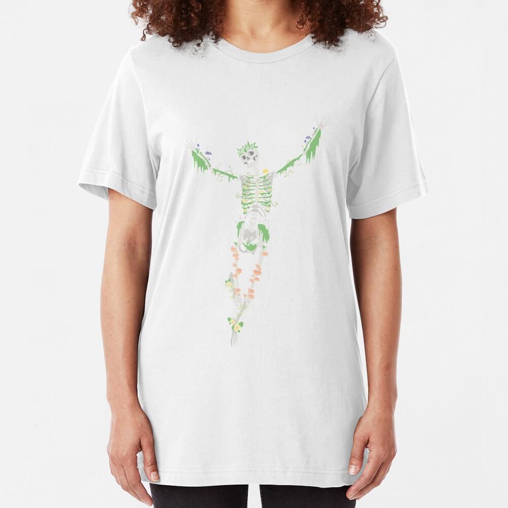 I Don't Care, I'm Dead Slim Fit T-Shirt
