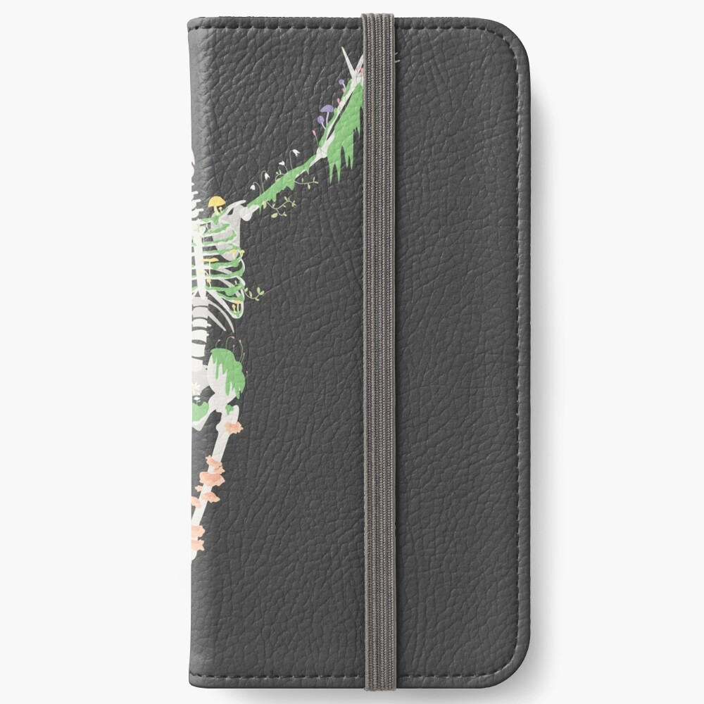 I Don't Care, I'm Dead iPhone Wallet