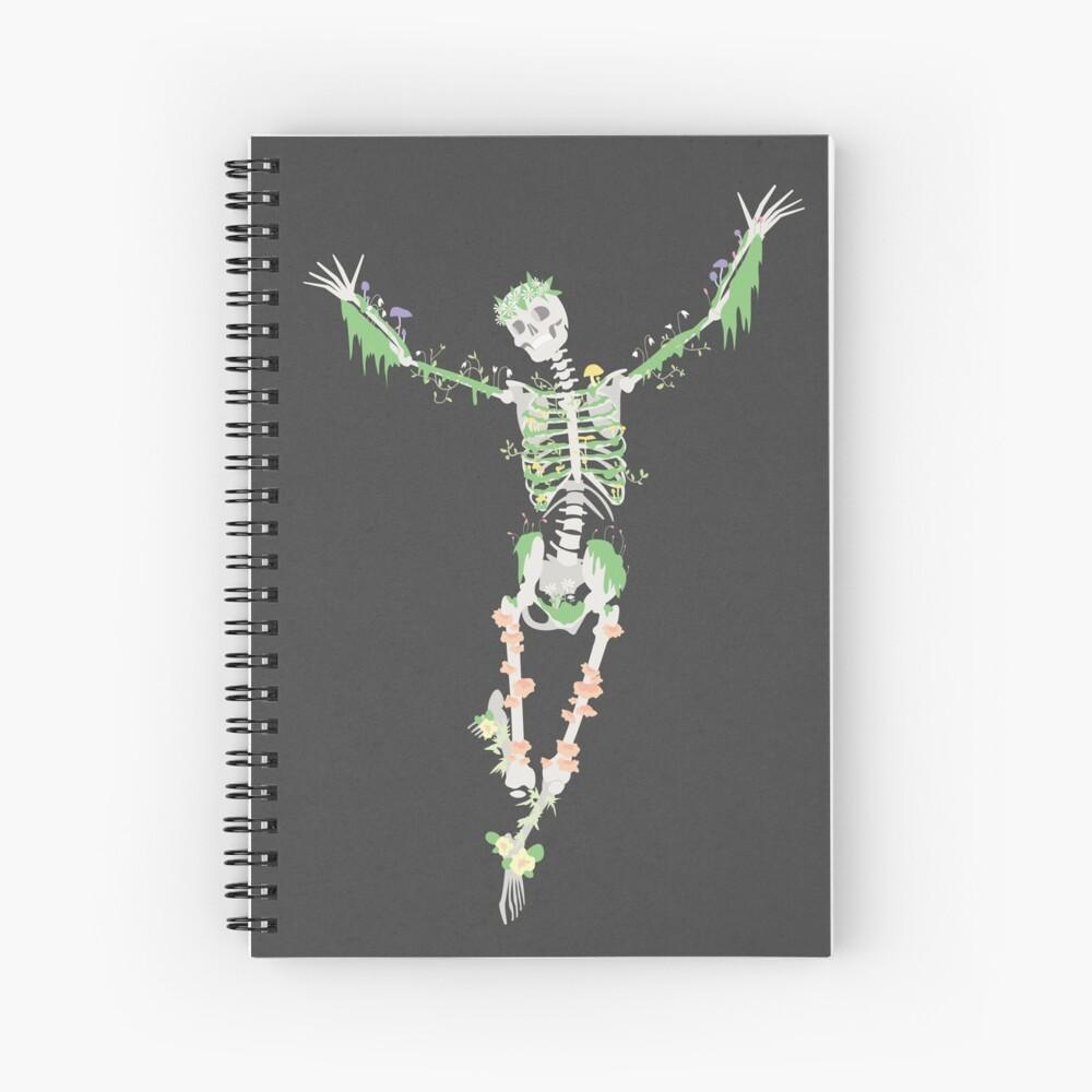 I Don't Care, I'm Dead Spiral Notebook