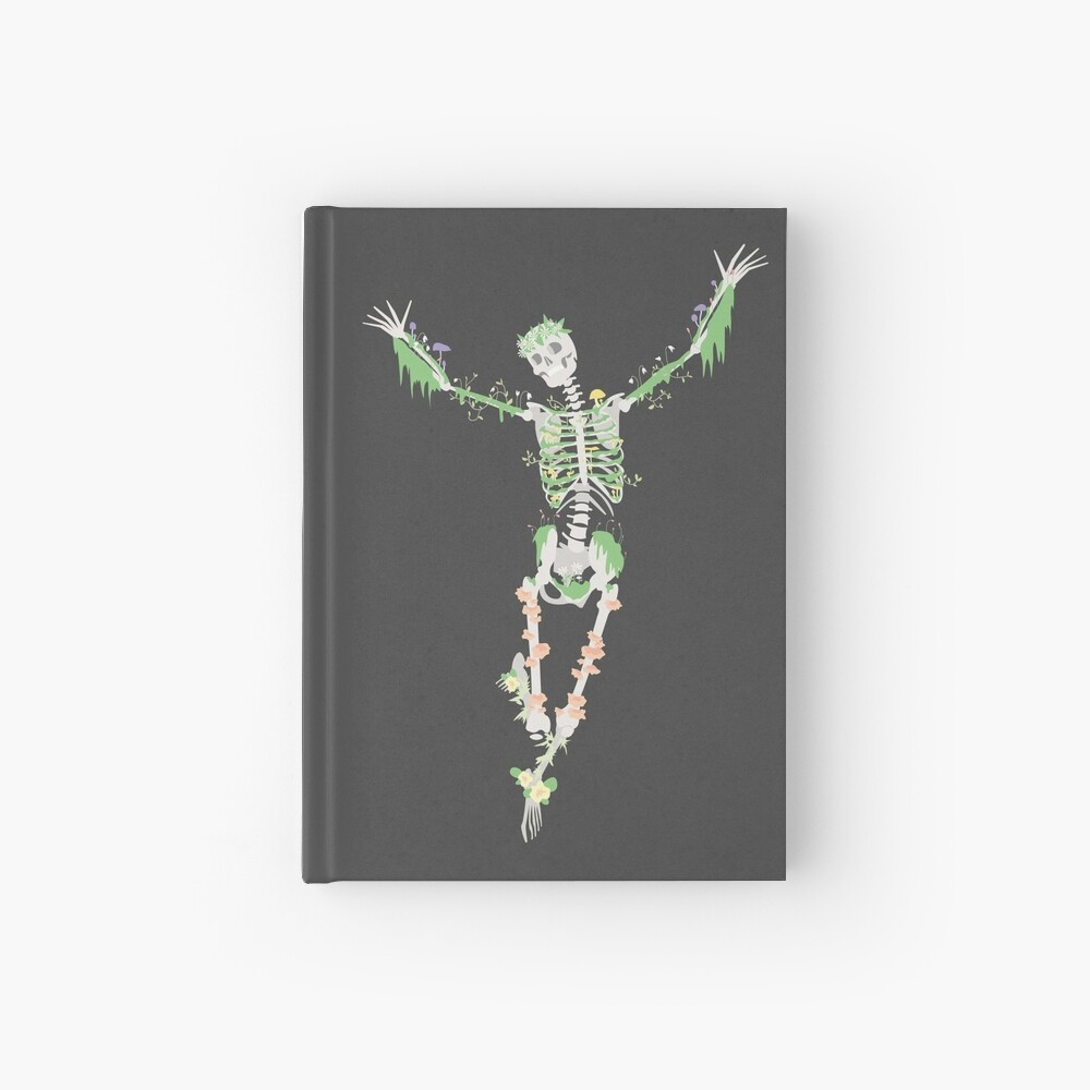 I Don't Care, I'm Dead Hardcover Journal