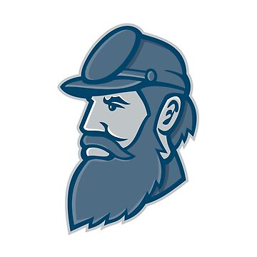 General Stonewall Jackson Mascot by patrimonio