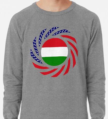 Hungarian American Multinational Patriot Flag Series Lightweight Sweatshirt