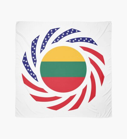 Lithuanian American Multinational Patriot Flag Series Scarf