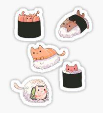 Sushi Cats Sticker