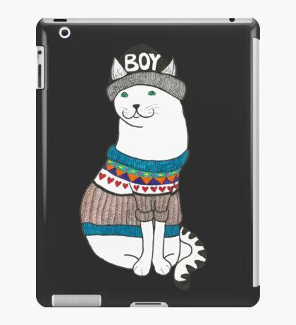 Boycat iPad Case/Skin