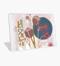 Abstract flower bouquet  Laptop Skin