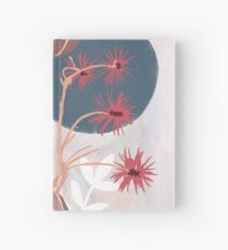 Abstract flower bouquet  Hardcover Journal
