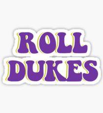 Roll Dukes Bubbles Sticker