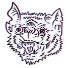 Bubble Gum Bat in the Third Dimension by strangethingsA
