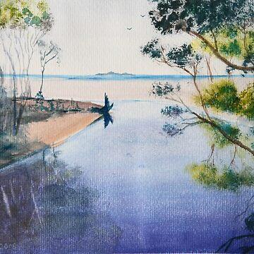 Sister's Island From the Bridge by Ian Shiel by Ruckrova
