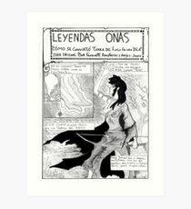 Ona Leyendas 1 Art Print