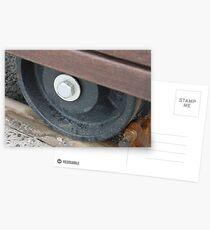 Postales Train Wheels