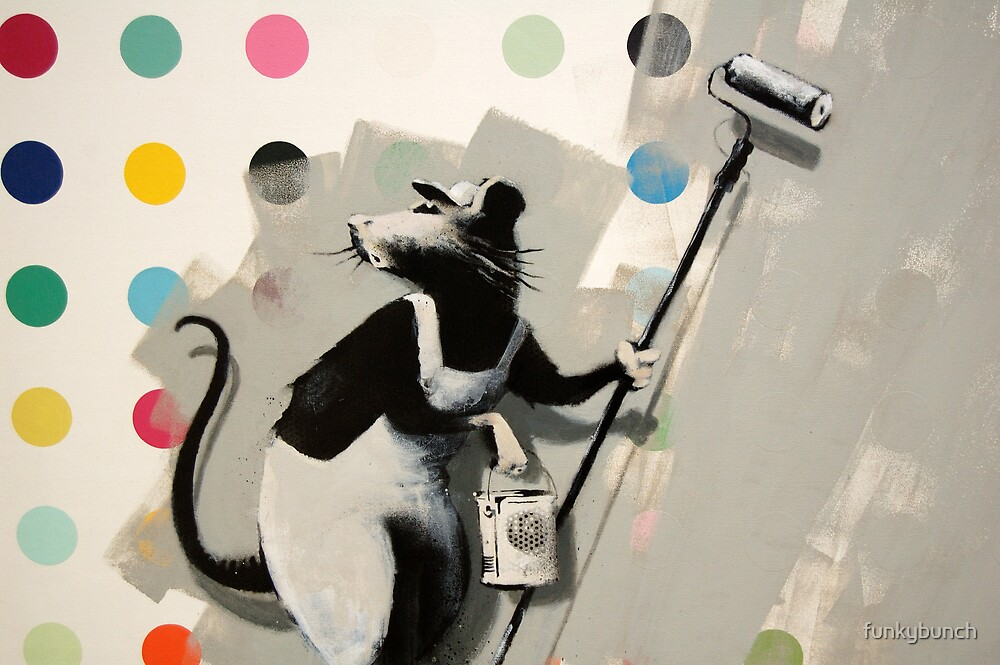 Banksy @ Bristol Museum by funkybunch