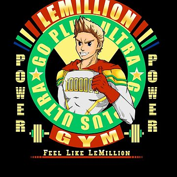 Lemillion Gym T-Shirt by Fu-Man-Chu