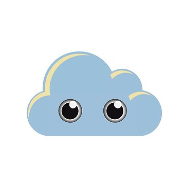Cloud Googly by DroopyFruit