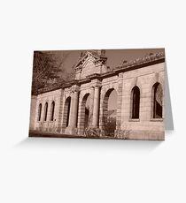 Facade of History Greeting Card