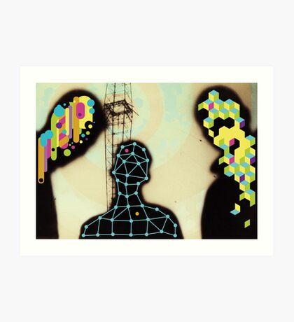on acid Art Print