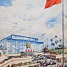 Brussels Expo 1958 by Gareth Stamp