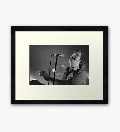 Rocky Takes A Lover Framed Print