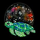 Watercolor Sea Turtle  by shashira