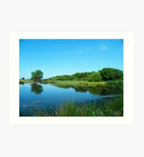 Another Lake at Margrove Art Print