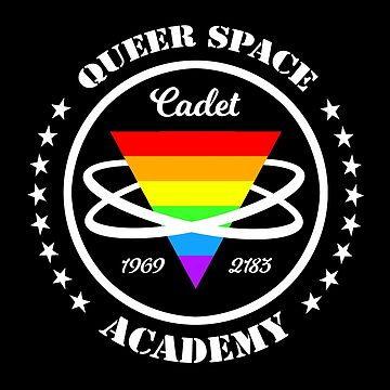 Queer Space Academy - Funny Gay Pride Outer Space Design by boypilot