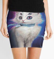 Buttons the Cat Mini Skirt