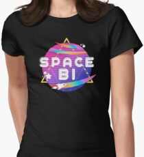 Space Bi Women's Fitted T-Shirt