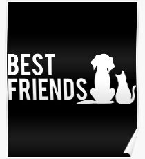 Dogs Are Best Friends Quotes Posters | Redbubble