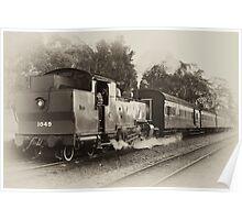 Thomas 1049 The Zig Zag Railway Poster