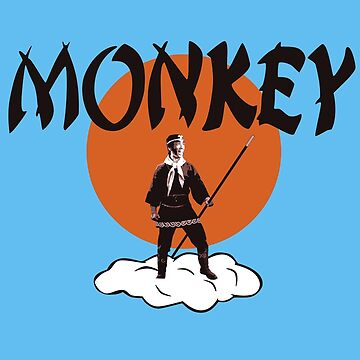 Monkey Magic Shirt by TV-Eye-On-Me