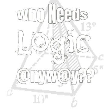 Who Needs Logic @nyw@y?? What Logic? Design by digitalbarn