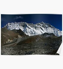 The Nuptse Lhotse Wall Poster