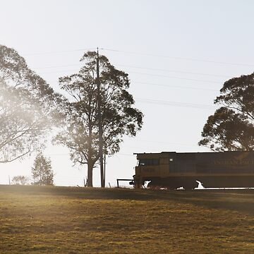 Frieght Train At Mittagong, NSW by LozzaElizabeth