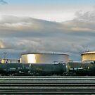 tanks by Bruce  Dickson