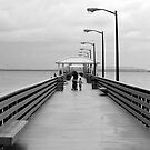 A day at the pier by David Lee Thompson