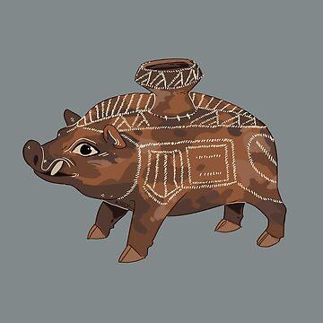 Boar Vesssel by flaroh