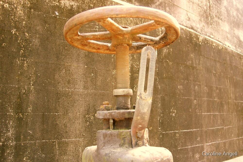 Tanks Arts Centre Series - Oil Wheel by Caroline Angell