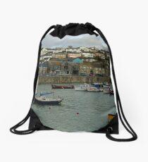BOATS AT HOME Drawstring Bag