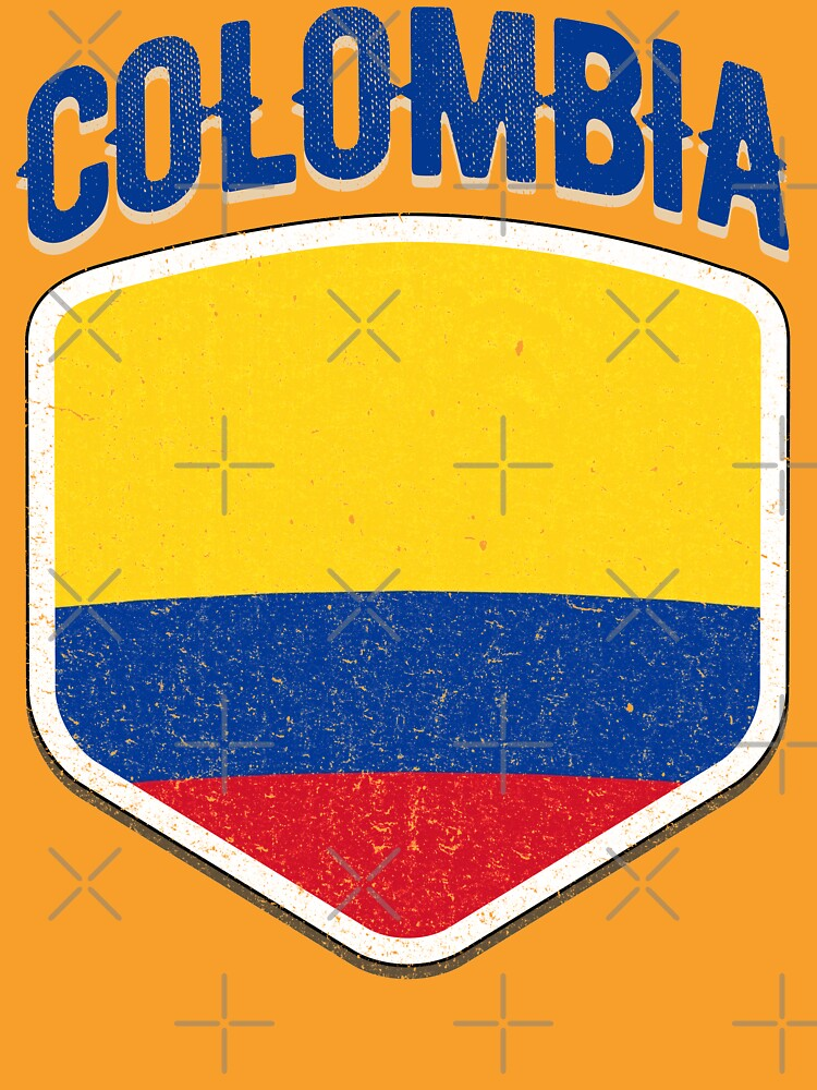 a0ad9d02c8a 2018 Colombia Flag Soccer Team World Jersey Cup T Shirt