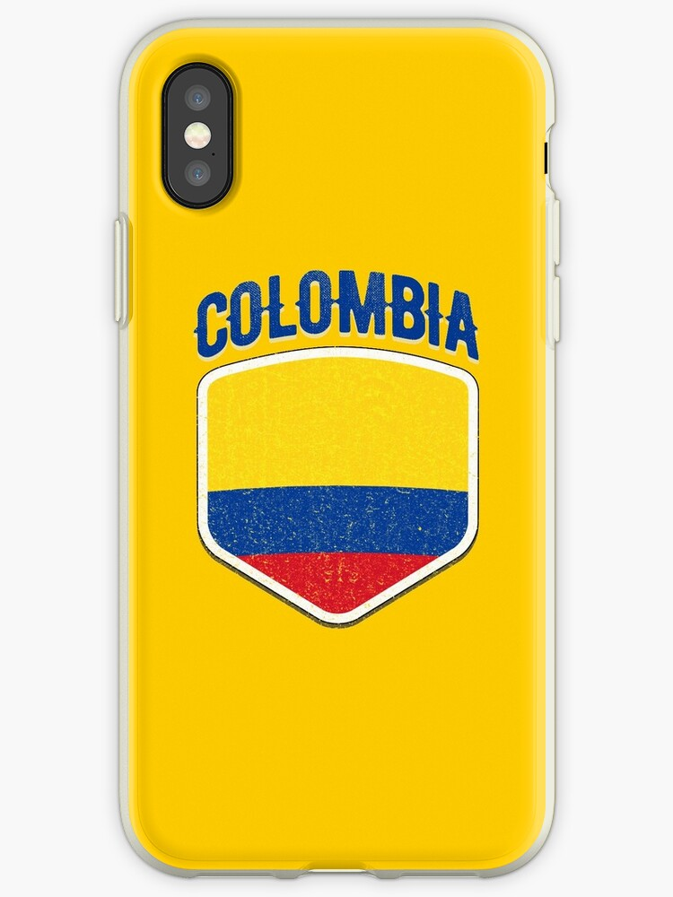 bfb394b0e24 2018 Colombia Flag Soccer Team World Jersey Cup T Shirt by Print Cartel