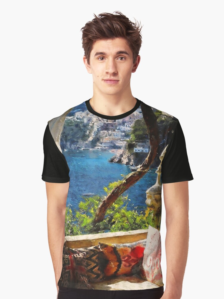 Amalfi, Italy Graphic T-Shirt Front