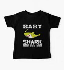 Cute Baby Shark T-Shirt Doo Doo Doo The Shark Family Apparel Baby Tee