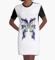 Wasp Shield Graphic T-Shirt Dress