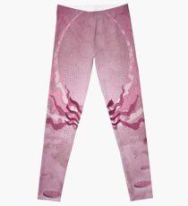 Model in Pink Leggings