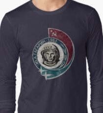 CCCP Yuri Gagarin 1961 Long Sleeve T-Shirt